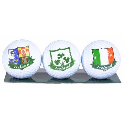 3 Pack of Irish Designed Golf Balls