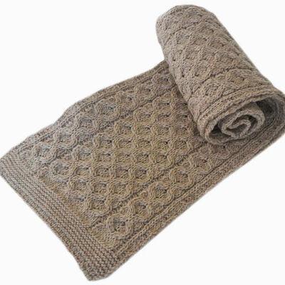 Merino Wool Scarf  Parsnip