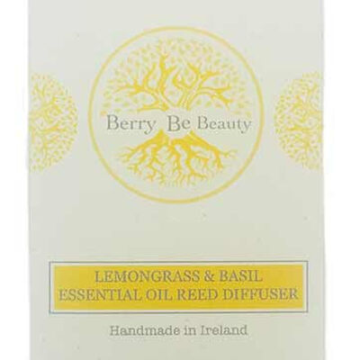 Berry Be Beauty Lemongrass Essential Oil Reed Diffuser