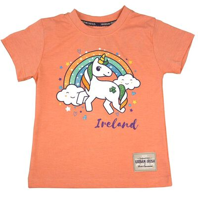 Ireland Unicorn Design T-Shirt