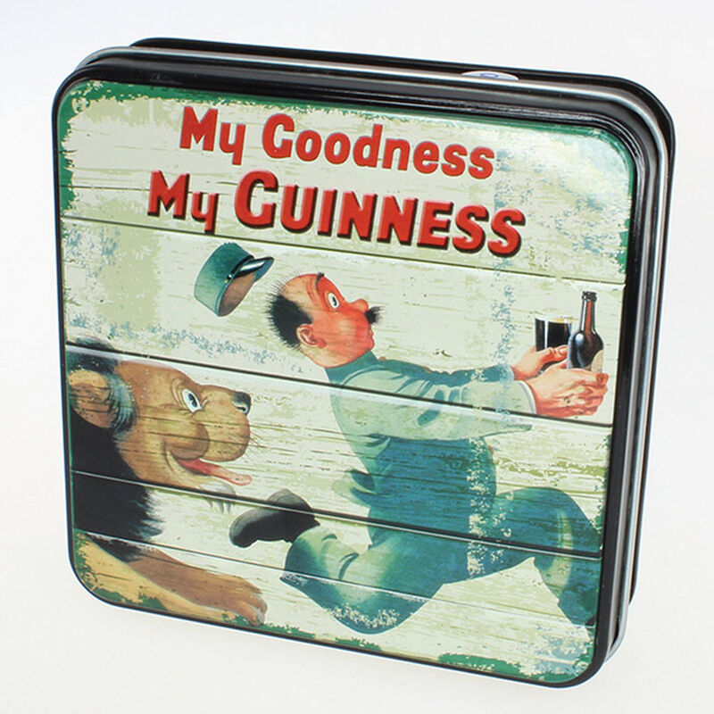 Guinness Gift Tin Of Fudge With My Goodness My Guinness Lion Design  100g