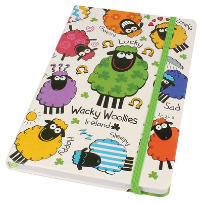 Wacky Woollies Designed Notebook
