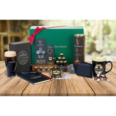 Official Guinness Merchandise Beer Lovers Amazing Gift Hamper  Large