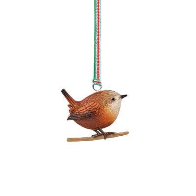 Newbridge Silverware Christmas Wren Hanging Decoration