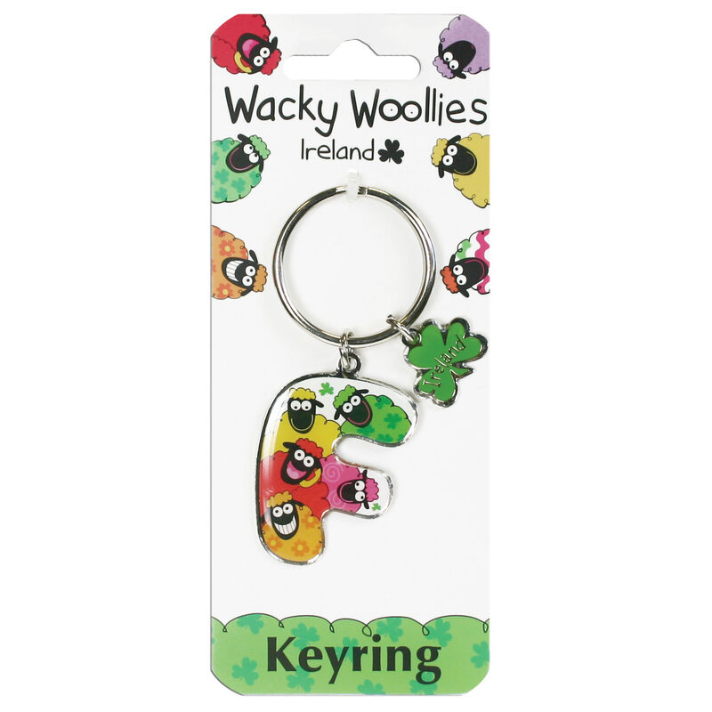 Wacky Woollies Personalised Keychain