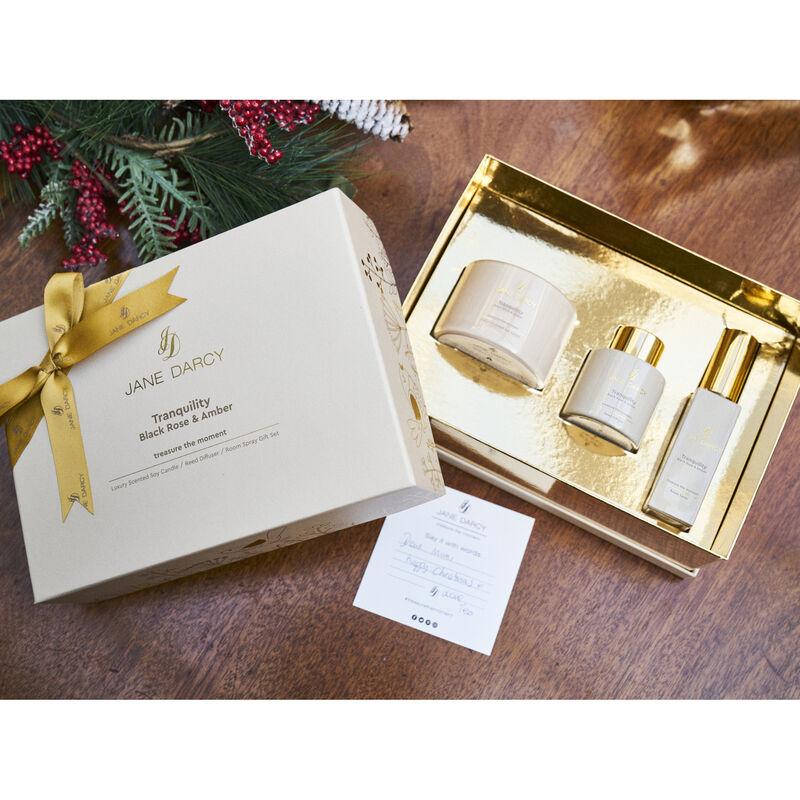 Jane Darcy Tranquility Gift Set Black Rose & Amber