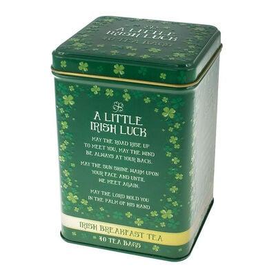 A Little Irish Luck Irish Breakfast Tea Tin