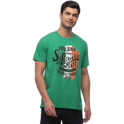 St. Patrick's Day Mens T-Shirt with Limited Edition 'La Fheile Padraig' 2020 Print