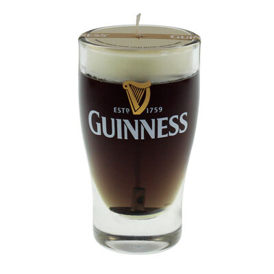 Guinness Mini Pint Kerze