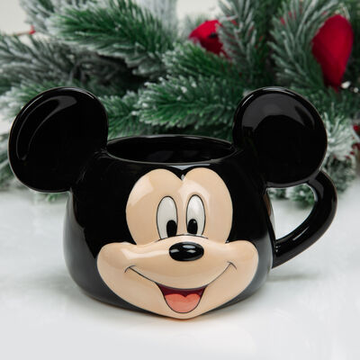 Disney 3D Earthenware Ceramic Mickey Mouse Mug
