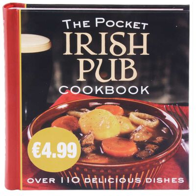 The Pocket Irish Pub Cookbook Hardback Copy  Over 110 Delicious Dishes