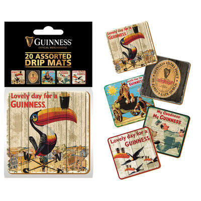 Guinness Heritage Advertising Drip Mats