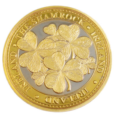 Collectors Edition Shamrock Leaves Design Token