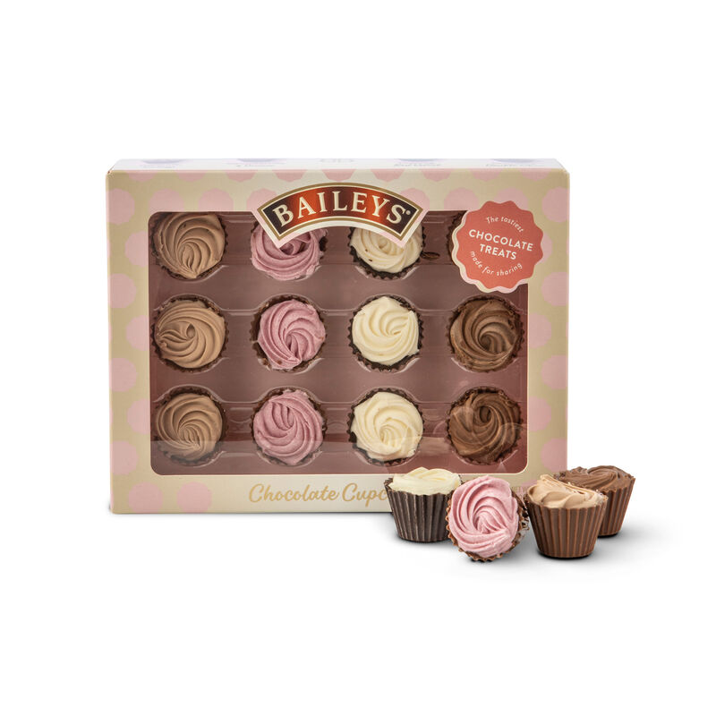 Baileys Luxury Mini Chocolate Cupcakes, 138G