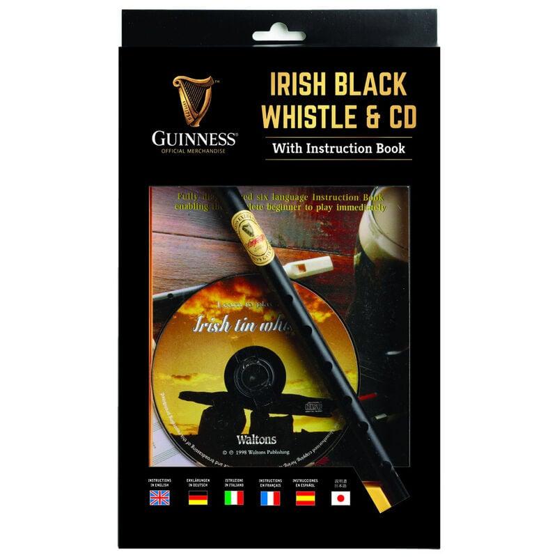 Guinness Irish Black Whistle mit CD und Anleitung
