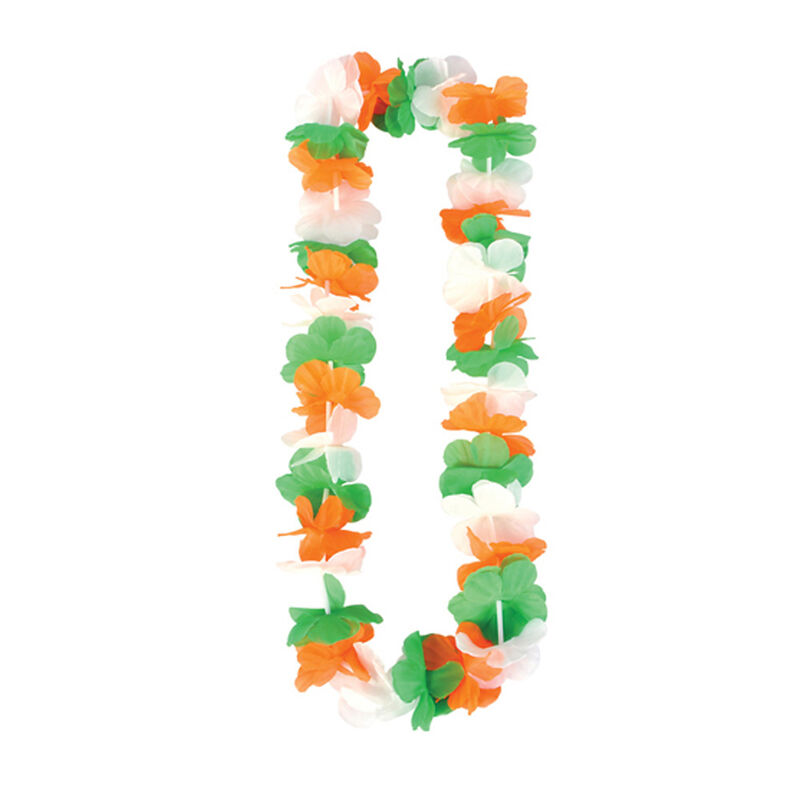 Tri Colour Single Lei