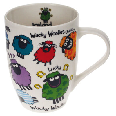 Tulip Ceramic Mug With Wacky Woollies Design
