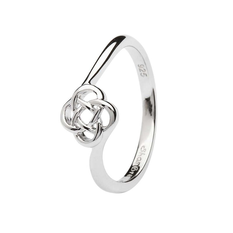 Hallmarked Sterling Silver Celtic Knot Ring