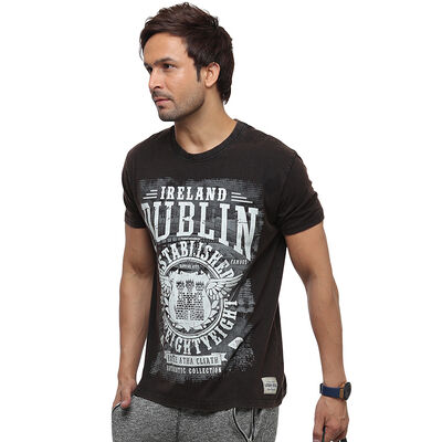 Brown Ireland Dublin Established Nine Eighty Eight Men's T-Shirt
