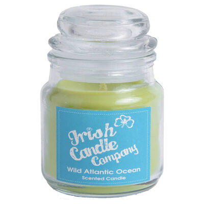 Irish Candle Company Wild Atlantic Ocean Scented Candle  8 Cm Height
