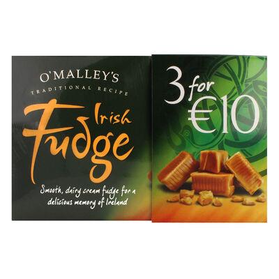 CLEARANCE - O'Malley's Irish Fudge 3 X 200G Boxes
