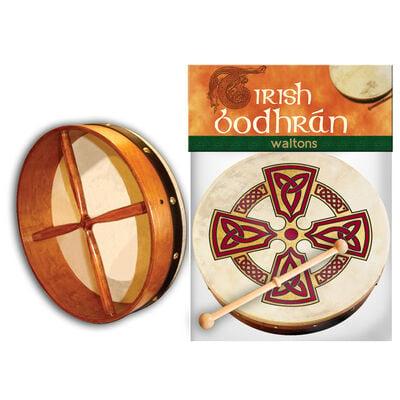 8'' Bodhran mit Kilkenny Kreuz Design