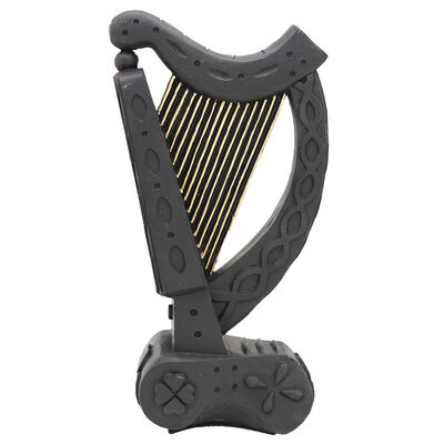 Liffey Artefacts Celtic Turf Collection Handcrafted Standing Harp