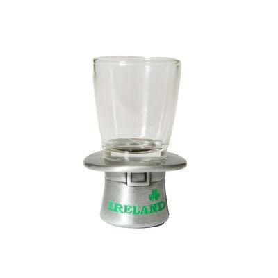 Leprechaun Top Hat Design Shot Glass