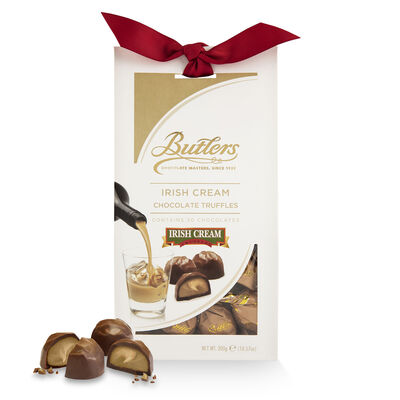 CLEARANCE - Butlers Irish Cream Chocolate Truffles In Tapered Box, 300G ( Two Pack)