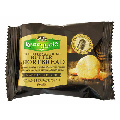 Traditional Irish Butter Kerrygold 2 Per Pack Shortbread 50G