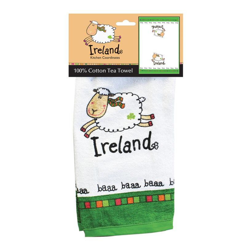 Ireland White Sheep Single T-Towel