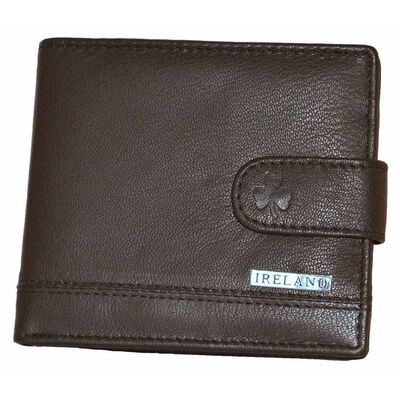 McCabe Collection Ireland Quality Genuine Leather Wallet  Brown Colour