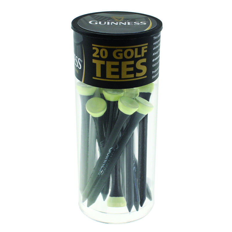 Guinness Wooden Tees In Tube