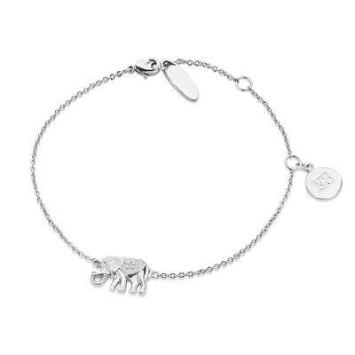 Silver Plated Amy Huberman Newbridge Silverware Bracelet with Elephant