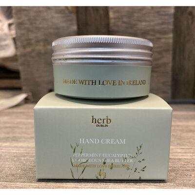 Herb Dublin Peppermint Eucalyptus Hand Cream With Gorgeous Shea Butter. 50ml