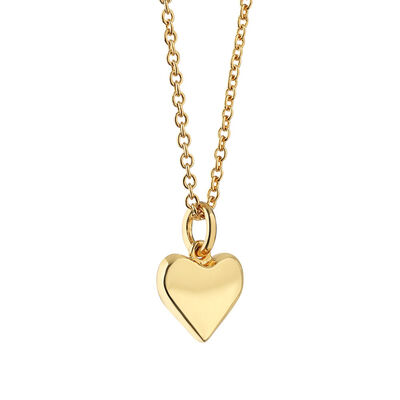 Gold Plated Amy Huberman Newbridge Silverware Heart Pendant