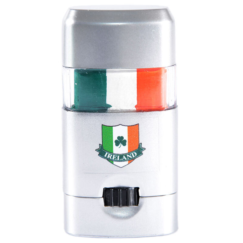 Ireland Tri Colour Face Paint  Comes in Silver Container