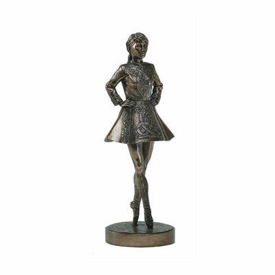 """10.5"""" Irish Dancer Bronze Statue"""