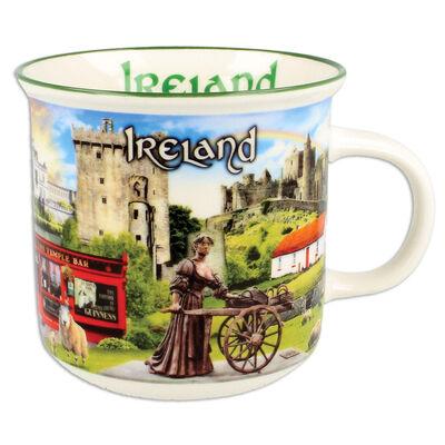 Ireland Montage  Ceramic Mug With Famous Irish Landmark Design