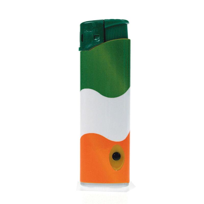 Elektronisches Feuerzeug mit dreifarbigem Design