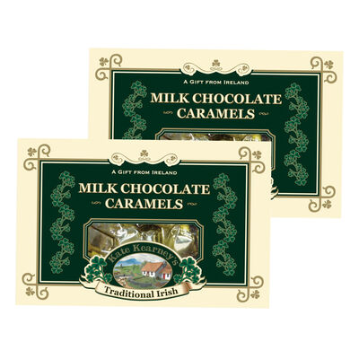 CLEARANCE - Kate Kearney's Milk Chocolate Caramels 200G (Two Pack)
