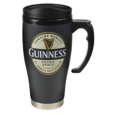 Guinness Label Travel Mug - Large