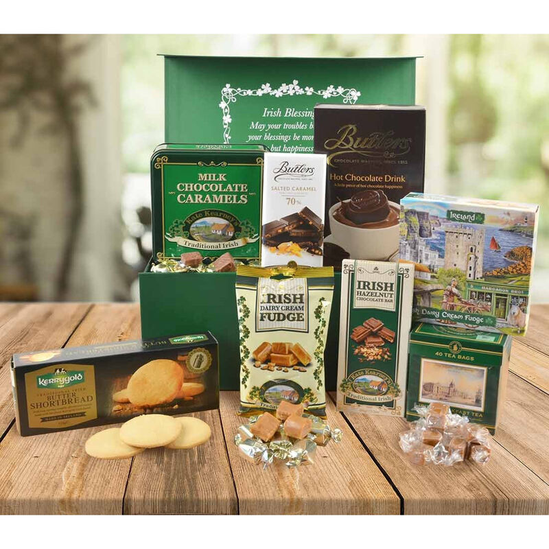 Delicious Treats From Ireland Authentic Food Gift Hamper  Large