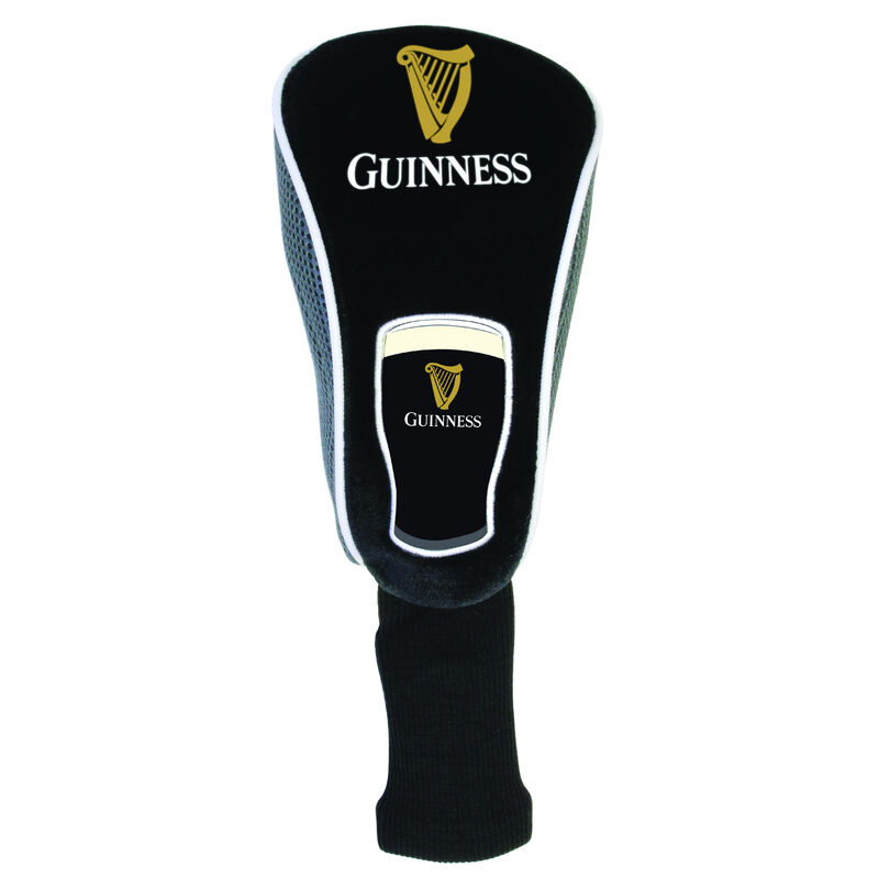 Guinness Golf Head Cover With Pint And Signature