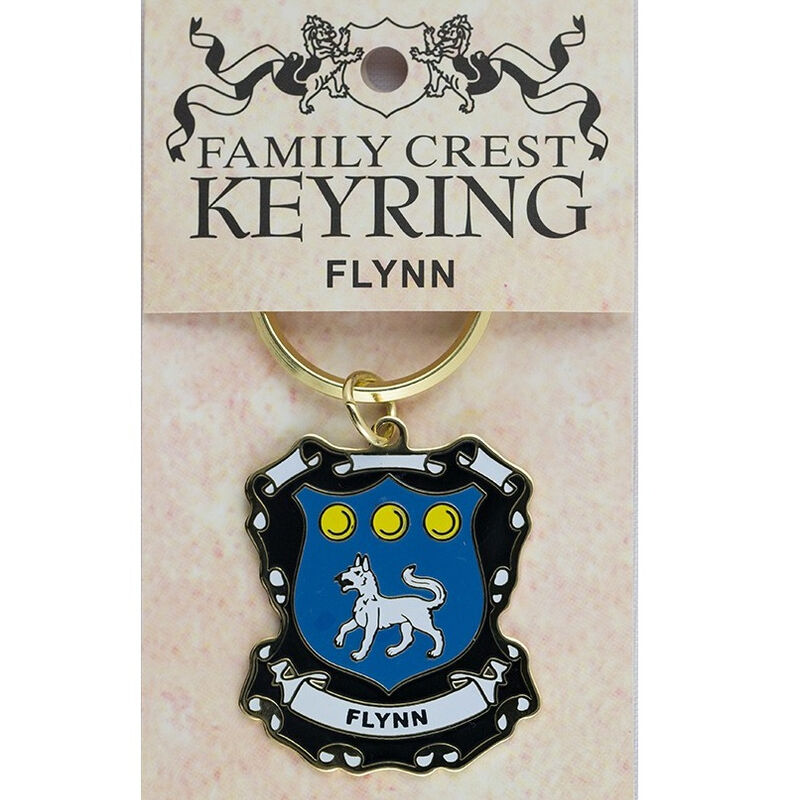 Heraldic Keychain With Crest And Brief History