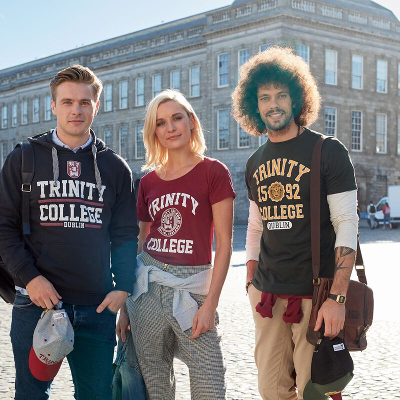 Trinity College Hoodie With Trinity College Dublin Design  Navy Colour