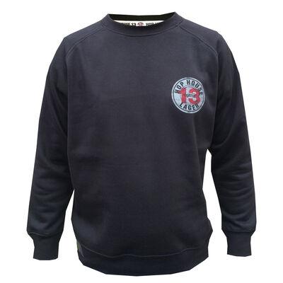 Hop House 13 Larger Logo Sweater, Black Colour