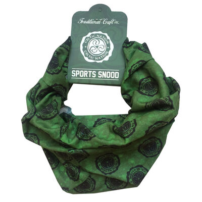 Celtic Ireland Sports Snood  Green And Black Colour