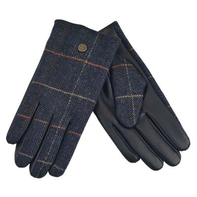 The Quiet Man Collection Boxed Traditional Irish Gloves  Blue Colour