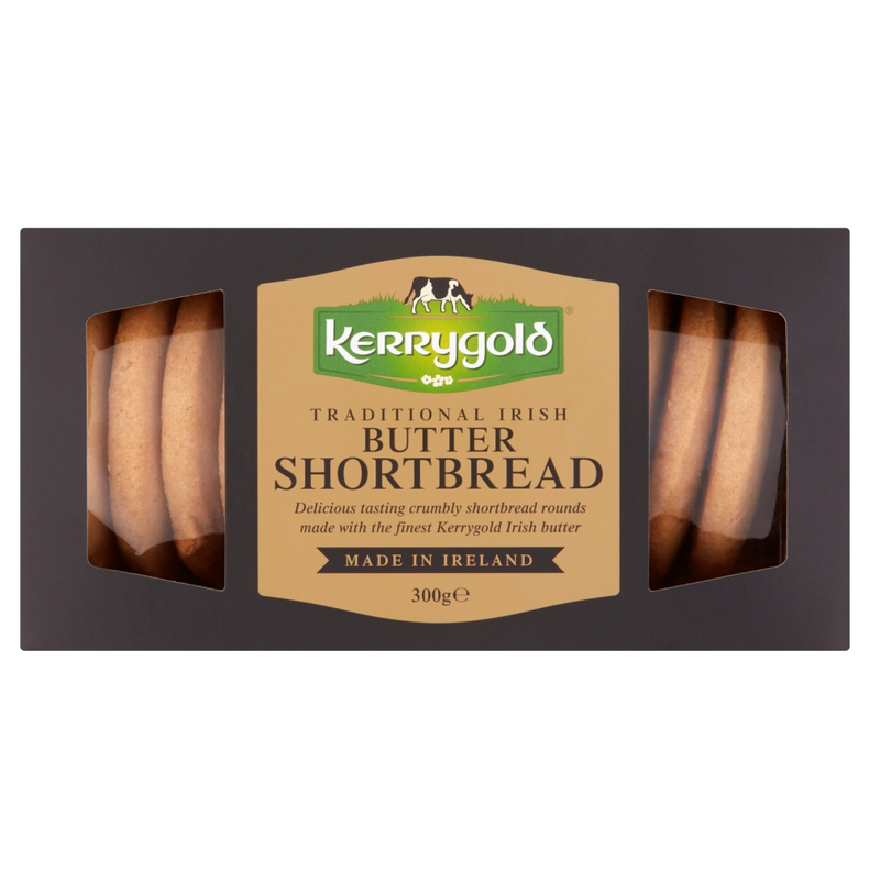 Traditional Irish Butter Kerrygold Shortbread 300G